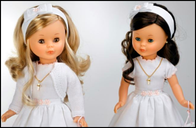 Muñeca de comunión Nancy